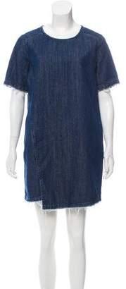 AllSaints Short Sleeve Denim Dress