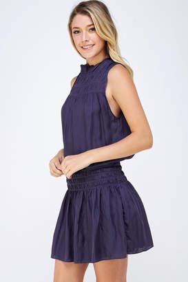 Do & Be Smocked Sleeveless Dress