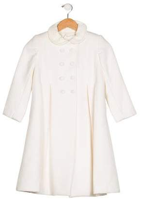 Isabel Garreton Girls' Pleated Coat