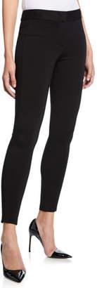 Emporio Armani Mid-Rise Slim Jersey Leggings