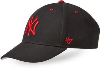 '47 Black & Red New York Yankees MVP Baseball Cap