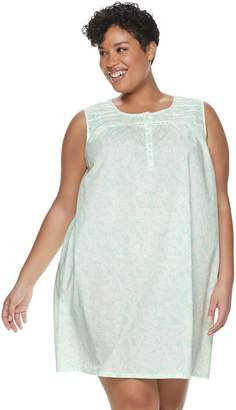 Croft & Barrow Plus Size Pintuck Sleepshirt