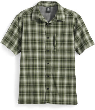 Ems Men's Journey Plaid Short-Sleeve Shirt