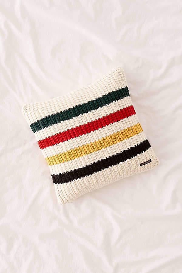 Glacier Park Knit Throw Pillow