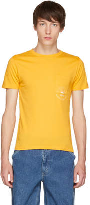 Levi's Levis Made and Crafted Yellow Sun Pocket T-Shirt