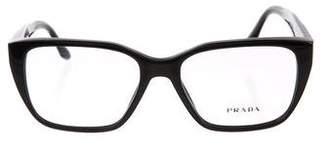 Prada Cat-Eye Logo Eyeglasses
