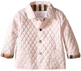 Burberry Kids - Colin Quilted Jacket Girl's Coat $145 thestylecure.com