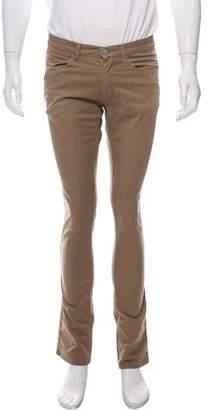 Acne Studios Max Satin Flat Front Pants