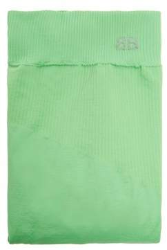 Balenciaga Ribbed Tights - Womens - Green