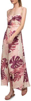 Tropical Blush Maxi Dress