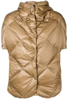 Max & Moi 3 in 1 metallic puffer jacket