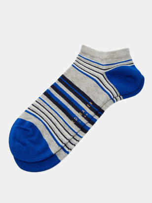 Ted Baker CALITHE Striped cotton sneaker socks