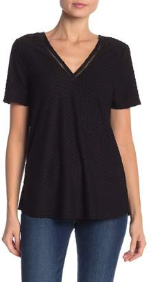 Daniel Rainn DR2 by Knit Clip Dot Double V Tee