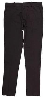 Balmain Flat Front Woven Pants
