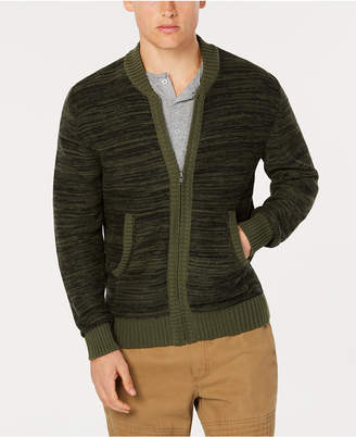 American Rag Men's Full Zip Sweater Bomber