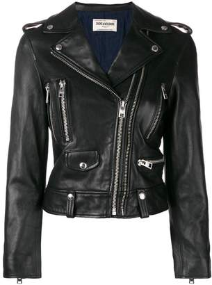 Zadig & Voltaire Zadig&Voltaire Fashion Show Lenni biker jacket