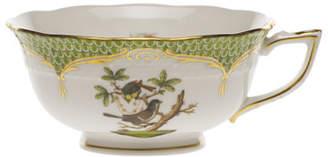 Herend Rothschild Bird Borders Green Teacup 1
