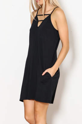 Bobi Strappy Tank Dress