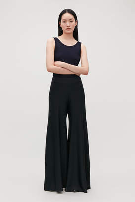 Cos WIDE-LEG KNITTED TROUSERS