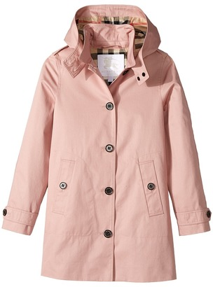 Burberry Kids - Geri Trench Girl's Coat $450 thestylecure.com