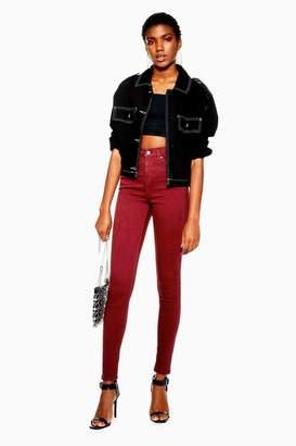 Topshop Plum Jamie Jeans