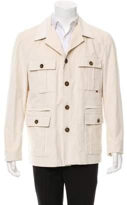 Gucci Corduroy Utility Jacket w/ Tags