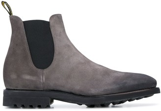 Doucal's distressed Chelsea boots