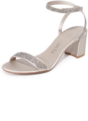 Pedro Garcia Xela Block Heel Sandals $750 thestylecure.com