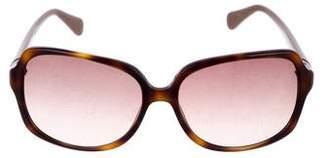 Diane von Furstenberg Square Gradient Sunglasses
