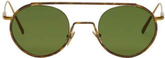 Acne Studios Tortoiseshell Winston Sunglasses