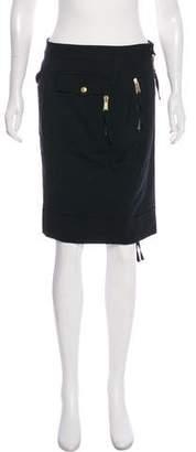 DSQUARED2 Wool Knee-Length Skirt