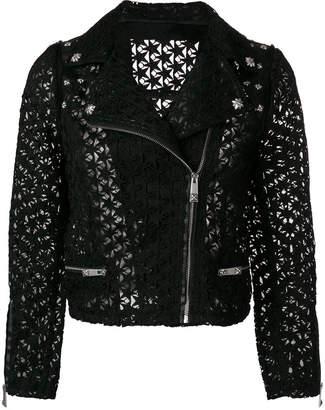 John Richmond open-star biker jacket