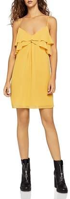 BCBGeneration Ruffled Slip Dress