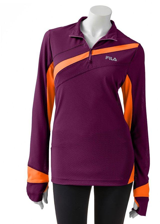 Fila sport ® breathe 1/4-zip pullover - women's
