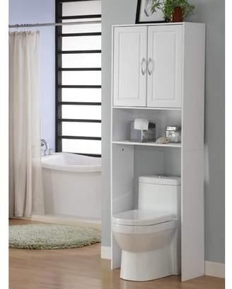 "Zipcode Design Jorge 24.38"" W x 71.5"" H Over the Toilet Storage"