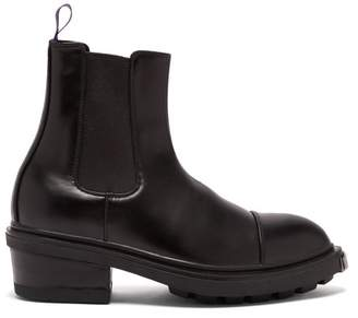 Eytys Nikita Exaggerated Sole Chelsea Boots - Mens - Black