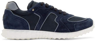 Valentino Navy Garavani Soul AM Sneakers