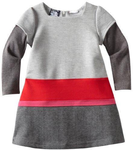 So La Vita Girls 2-6x Color-Blocked Dress