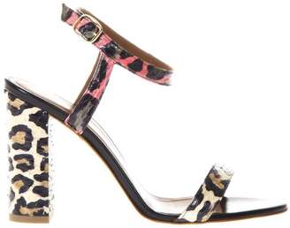 Malone Souliers Ladida 1 Sandals Multicolor Leopard Style