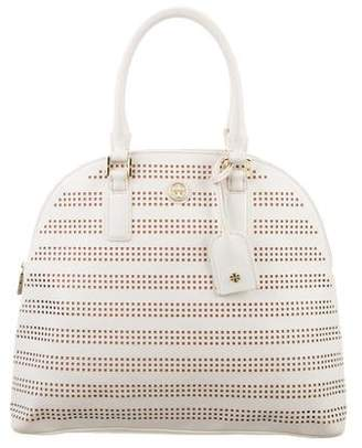 Tory Burch Robinson Perforated Dome Tote