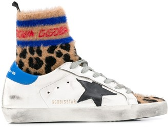 Golden Goose Superstar high-top sneakers