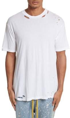 Drifter Cobain Distressed Oversize T-Shirt