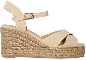 60mm Canvas Wedges $138 thestylecure.com