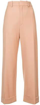 Chloé high waisted tailored trousers