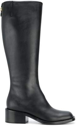 Giorgio Armani knee length boots