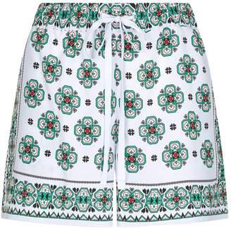 Sandro Mosaic Print Shorts