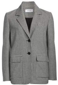 Derek Lam 10 Crosby Oversized Flannel Blazer