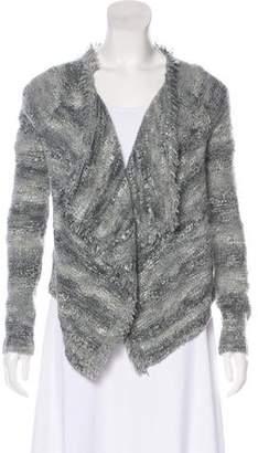 360 Cashmere Knit Long Sleeve Cardigan