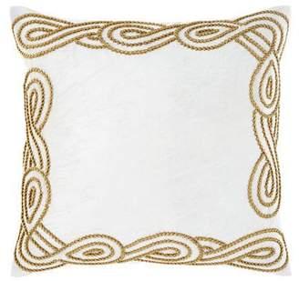 Callisto Home Ancora Square Decorative Pillow
