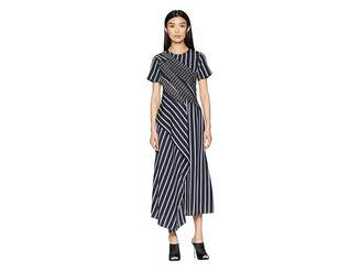 Sportmax Texas Short Sleeve Long Dress